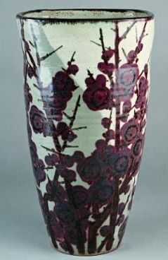 Vase à fleur, manufacture Kaitakuen Wakayama