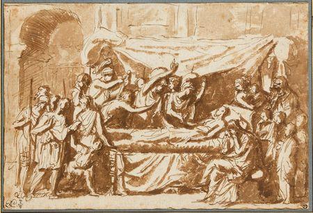 Nicolas Poussin, La Mort de Germanicus