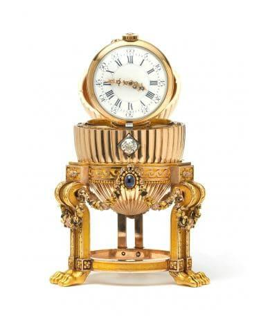 L'oeuf de Pâques de Fabergé retrouvé aux États Unis