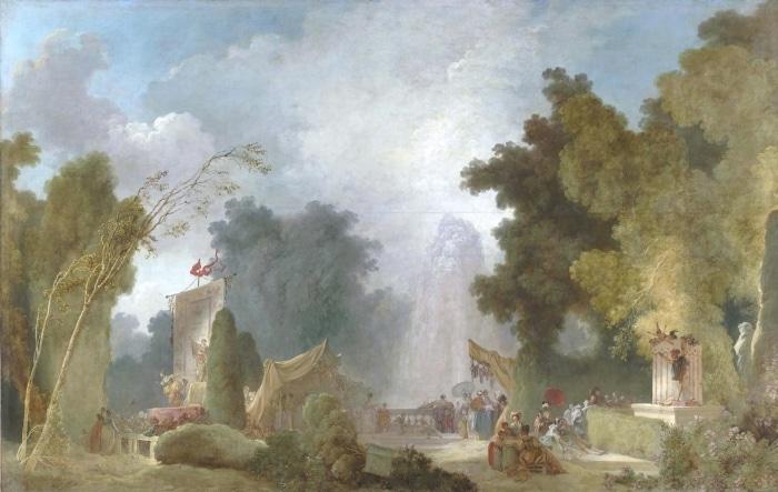 De Watteau à Fragonard : les fêtes galantes