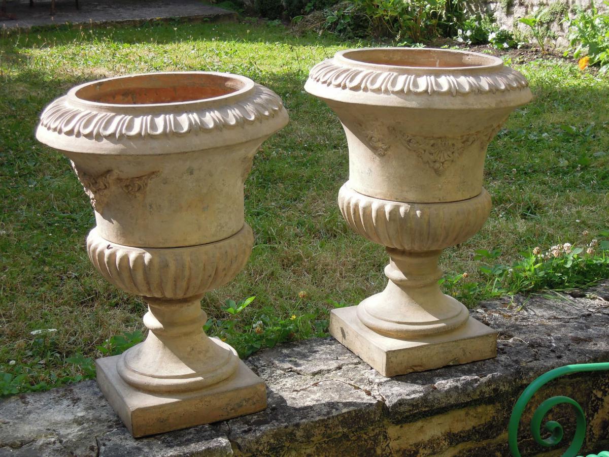Stunning Vasque De Jardin En Terre Cuite Gallery - House Design ...