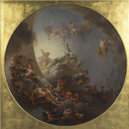 Charles de La Fosse Le lever du soleil Huile sur toile Rouen, musée des Beaux-Arts. © Musées de la ville de Rouen