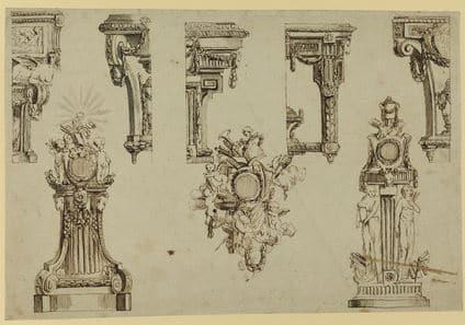 Jean Charles Delafosse: ornemaniste du style Louis XVI