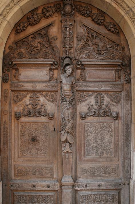 Hugues Sambin: Porte Parlement, Dijon.