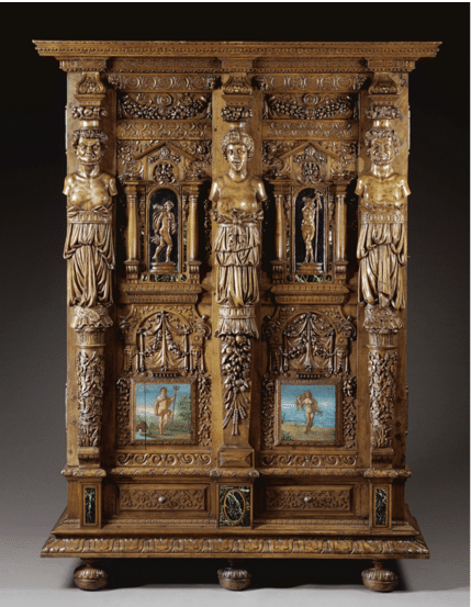 Armoire du Louvre attribuée à Hugues Sambin.