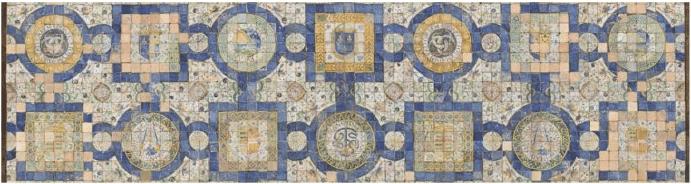 Masséot Abaquesne Deuxième pavement pour le château d'Ecouen, 1547 Ecouen, Musée de la Renaissance Photo : RMNGP