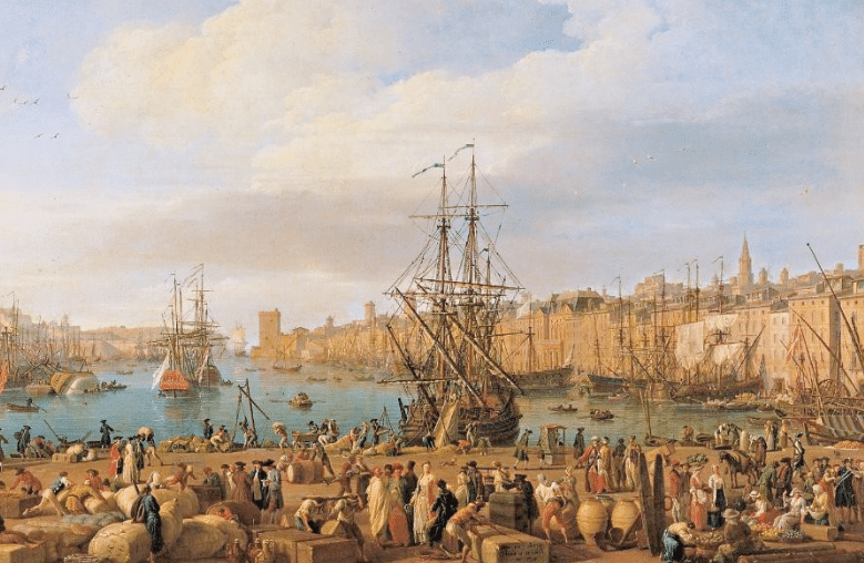 Marseille au XVIIIe siècle – Les années de l'académie 1753-1793