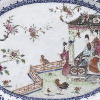L'influence des jardins chinois en Europe à travers la porcelaine