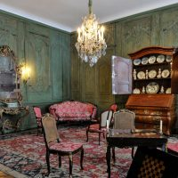 Le salon de l'hôtel de Gascq