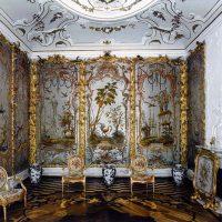Le cabinet de jais du Palais d'Oranienbaum
